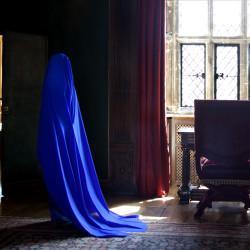 Blue Pigment (100x58cm)